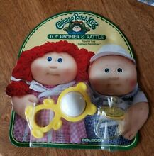 1984 toy pacifier rattle coleco