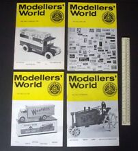 1974 75 modellers world collectors
