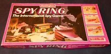 Spy ring board game 1986 by