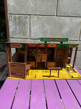The dodge city playset rare marx