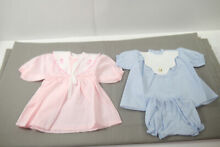 Baby doll clothes 2 x clothes 70