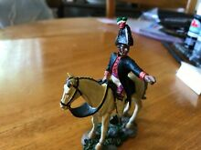 Painted metal toy soldier alamo mex