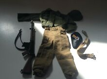 Lot action man outfit set commander