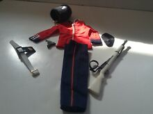 Lot action man outfit set uniform