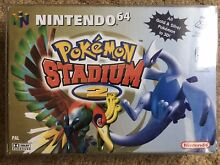 N64 pokemon stadium 2 mint