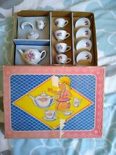Collectible toy china childs tea