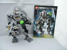 Lego hero factory thunder figure