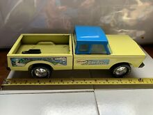 Rare bike buggy blue cab diecast