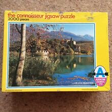 The conneseiur 2000 piece jigsaw