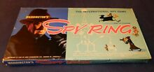 Spy ring board game 1965 1st