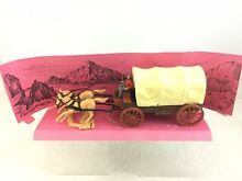 Wild west collection covered wagon