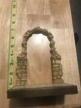 Italy hand carved flower vine arch