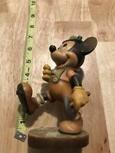 Italy hand carved hiking mickey