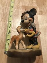 Italy hand carved minnie mouse w