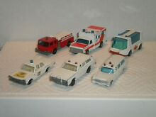 Matchbox 6 police cars and