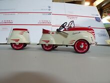Pedal car and trailer 121 10 000