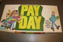 Pay day parker brothers 1975 board