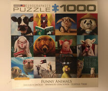 Funny animals 1000 piece