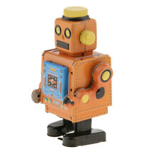 Old fashioned wind up tin model w