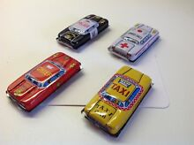 Japanese tinplate toy cars