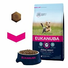 Eukanuba dry dog food for adult toy
