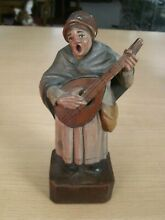 Lovely carved wooden figure