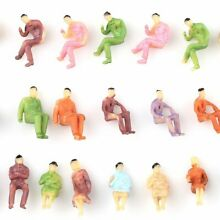 100pcs n gauge 1 150 scale painted