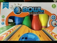 Bowl the rapid whirls ten pink