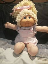 Cabbage patch kid doll lemon hair