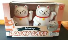 Racing lucky cats gift set new