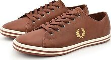 Fred perry leather tan
