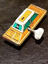 1960s working tin toy car wind up