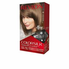 Colorsilk dye 50 light brown ash