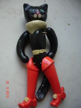 Cat puss in boots plastic toy doll
