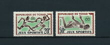 Chad 83 4 mnh olympic games 1962