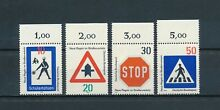 Germany 1055 8 mnh traffic signs