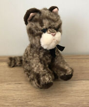 Whiskers the cat 6 beanie soft toy