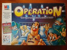 Operation milton bradley board game