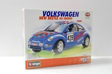 1 18 bburago vw new beetle ice