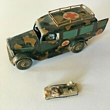 Prewar world war 2 tippco tinplate
