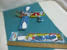 S funny flyer toy airplane new old