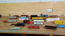 Model train carriages