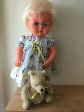 Sweet 1970s doll in lovely outfit