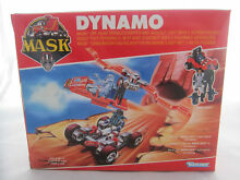 M a s k dynamo vehicle figures