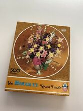 Ltd 500 piece bouquet round puzzle