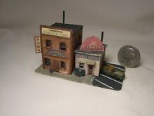 Z scale scratch built 1940s city