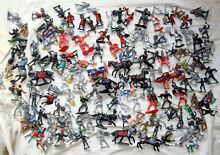 Plastic toy soldiers medieval