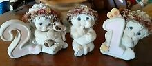 3 collectible figurines two are