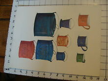 11 x 14 toy poster tin toy cups