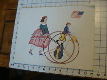 11 x 14 toy poster tin toy girl and